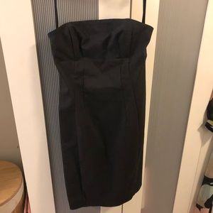 NWOT EXPRESS STRAPLESS BLACK DRESS